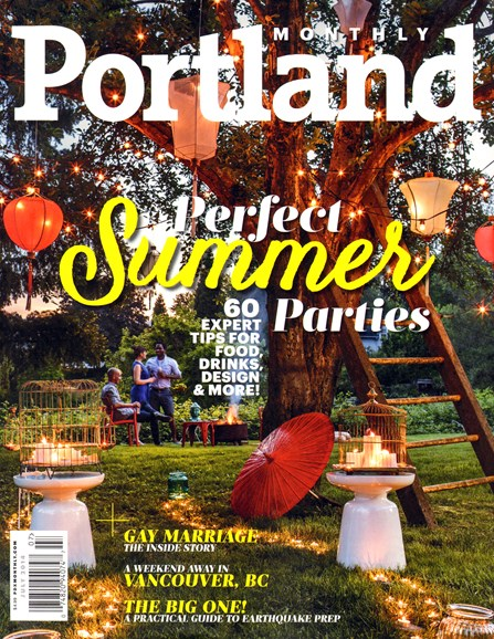 Portland Monthly Cover - 7/1/2014