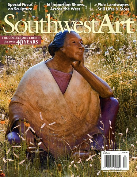 Southwest Art Cover - 7/1/2014