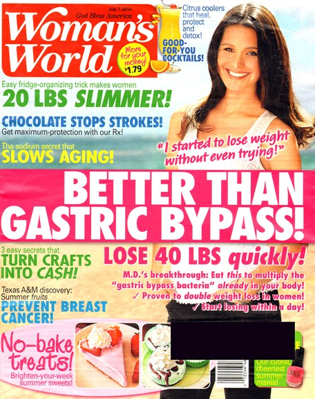 Woman's World Cover - 7/7/2014