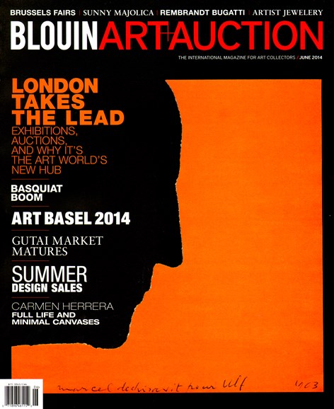 Blouin Art & Auction Cover - 6/1/2014