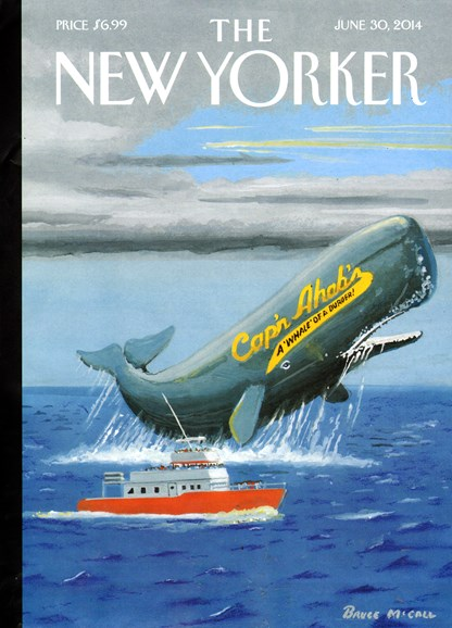 The New Yorker Cover - 6/30/2014
