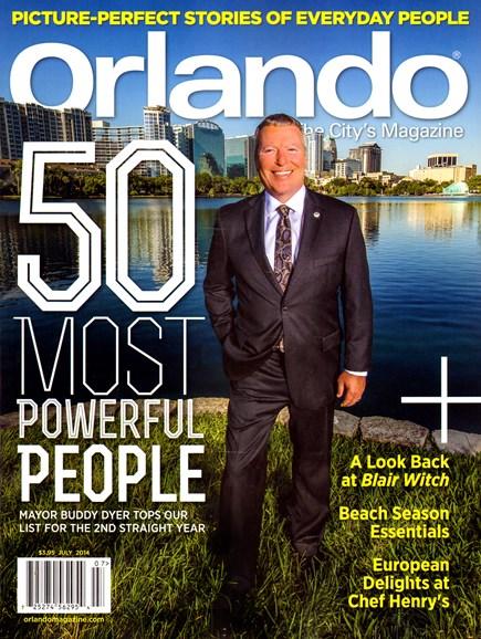 Orlando Magazine Cover - 7/1/2014