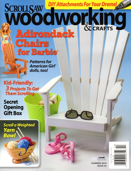 Scroll Saw Woodworking & Crafts Cover - 6/1/2014