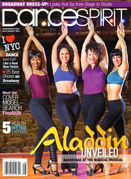 Dance Spirit Cover - 7/1/2014