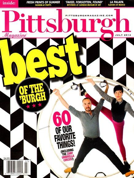 Pittsburgh Magazine Cover - 7/1/2014