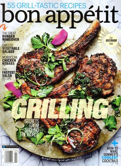 Bon Appétit Cover - 7/1/2014