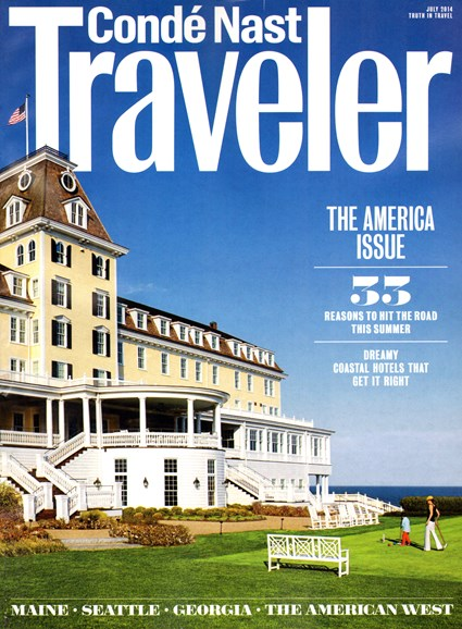 Condé Nast Traveler Cover - 7/1/2014