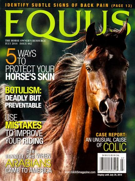 Equus Cover - 7/1/2014