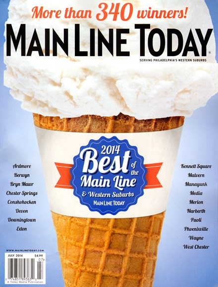 Main Line Today Cover - 7/1/2014
