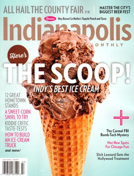 Indianapolis Monthly Cover - 7/1/2014