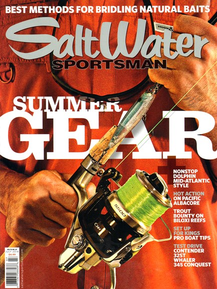 Salt Water Sportsman Cover - 7/1/2014