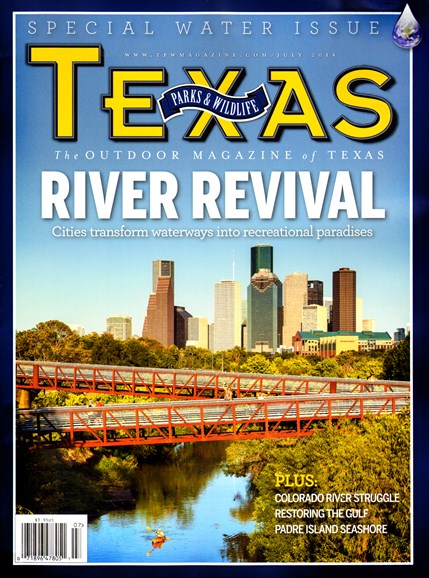 Texas Parks & Wildlife Cover - 7/1/2014