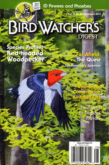 Bird Watcher's Digest Cover - 7/1/2014