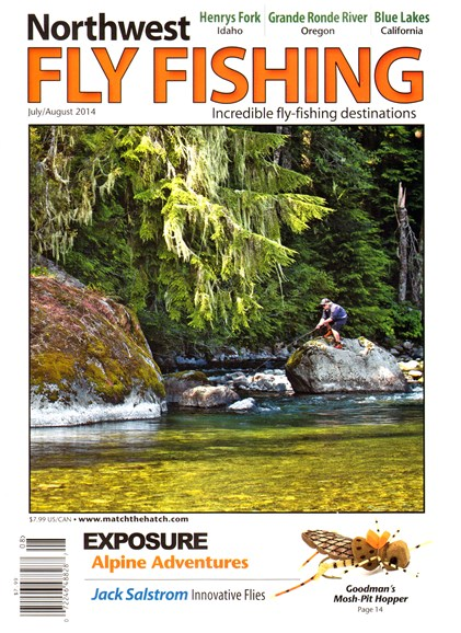 Northwest Fly Fishing Cover - 7/1/2014