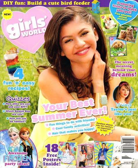 Girls' World Cover - 8/1/2014