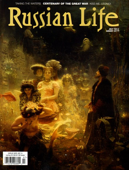 Russian Life Cover - 7/1/2014