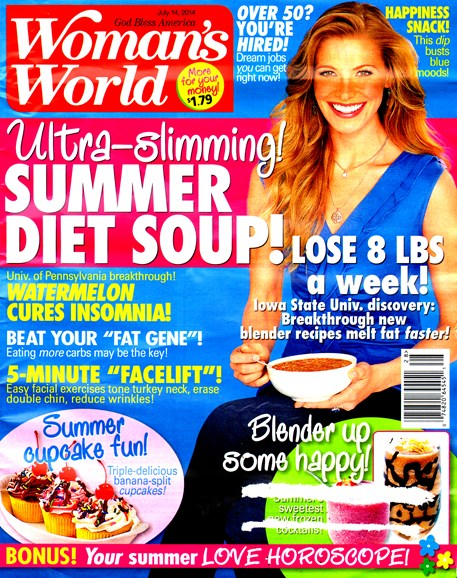 Woman's World Cover - 7/14/2014