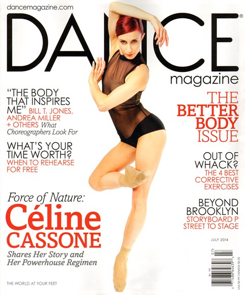Dance Magazine Cover - 7/1/2014