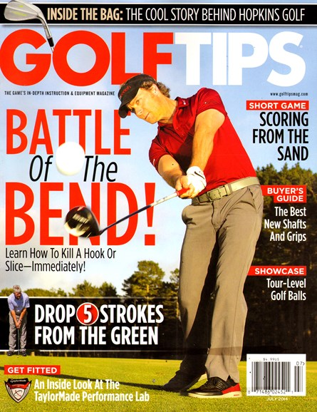 Golf Tips Cover - 7/1/2014
