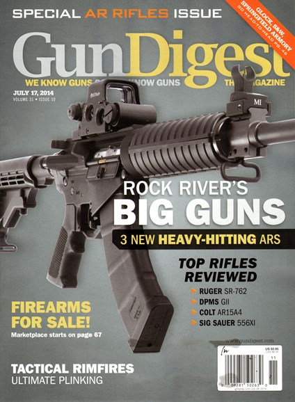 Gun Digest Cover - 7/17/2014