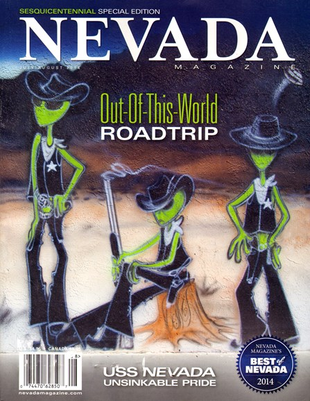 Nevada Magazine Cover - 7/1/2014