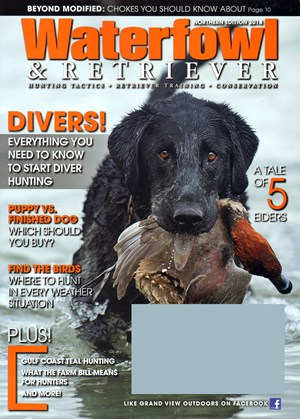 Waterfowl and Retriever Magazine | 6/1/2014 Cover