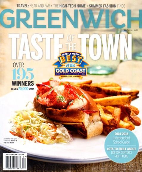 Greenwich Cover - 7/1/2014
