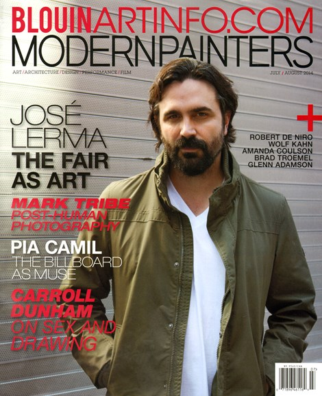 Blouin Modern Painters Cover - 7/1/2014