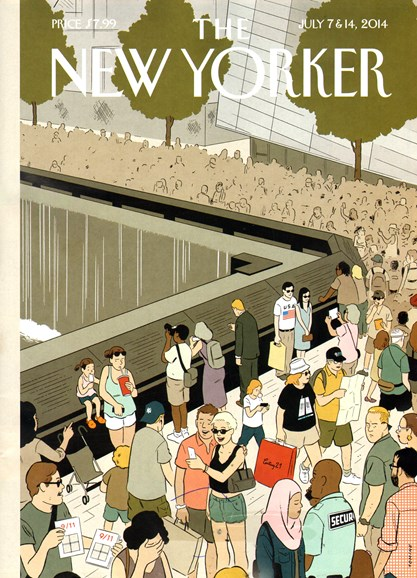 The New Yorker Cover - 7/7/2014