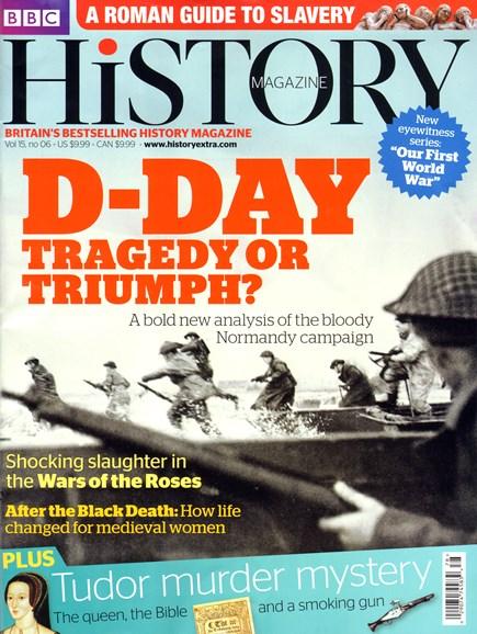 BBC History Cover - 6/1/2014
