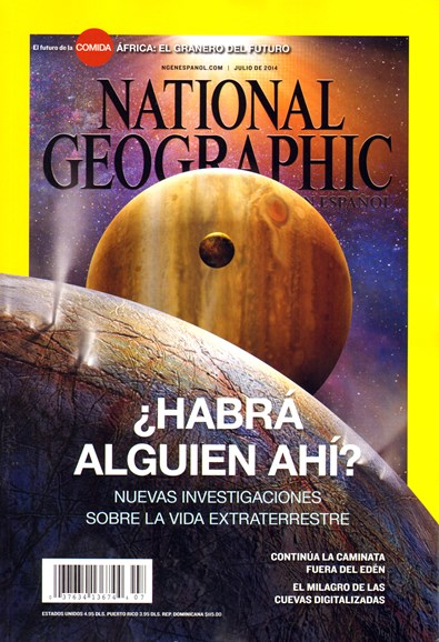 National Geographic En Español Cover - 7/1/2014