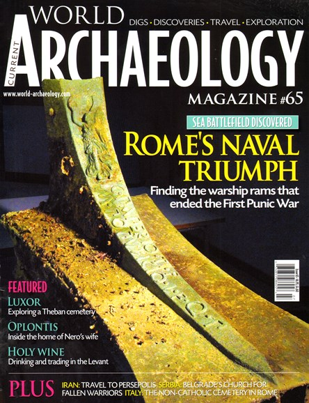 Current World Archaeology Cover - 6/1/2014