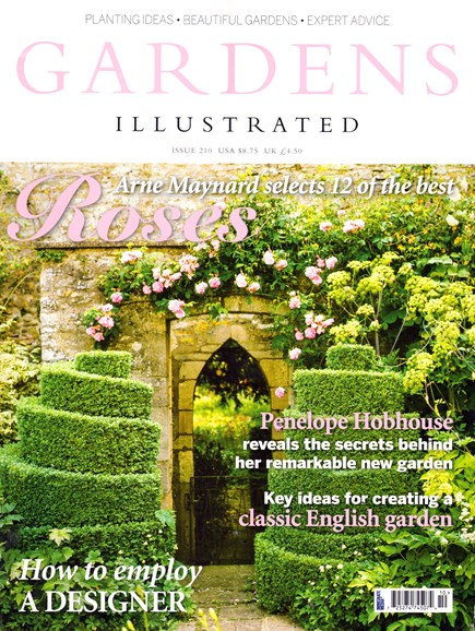 Gardens Illustrated Cover - 6/1/2014