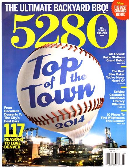 5280 Magazine Cover - 7/1/2014