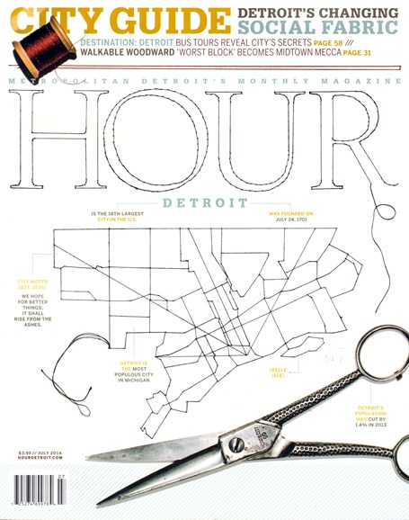 Hour Detroit Cover - 7/1/2014