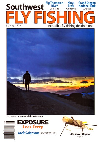 Southwest Fly Fishing Cover - 7/1/2014