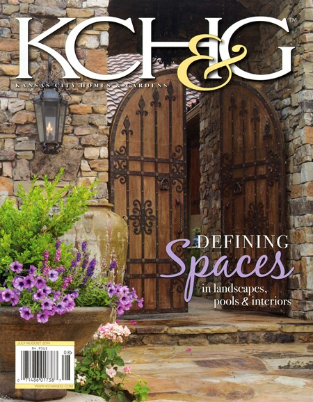 Kansas City Homes & Gardens Cover - 7/1/2014