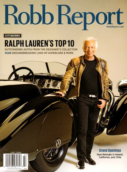 Robb Report Cover - 7/1/2014