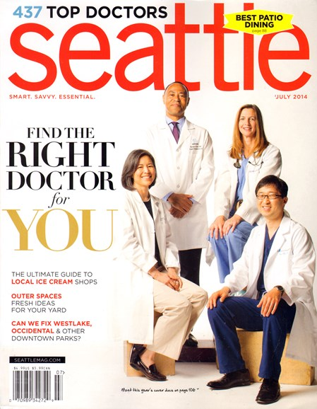 Seattle Magazine Cover - 7/1/2014