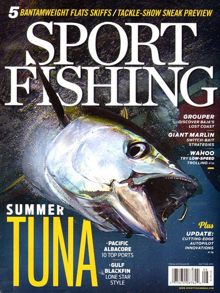 Sport Fishing Cover - 7/1/2014
