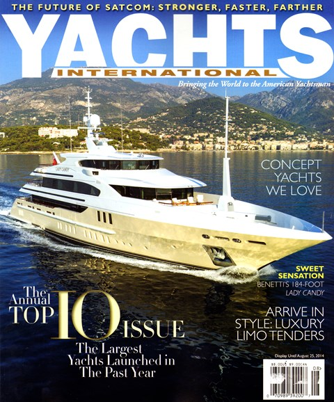 Yachts International Cover - 7/1/2014