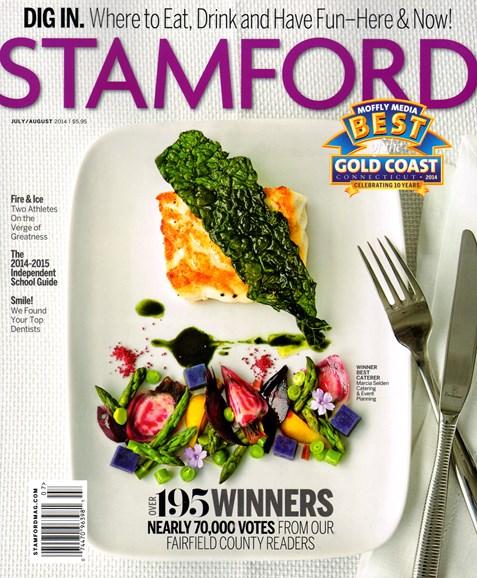 Stamford Magazine Cover - 7/1/2014