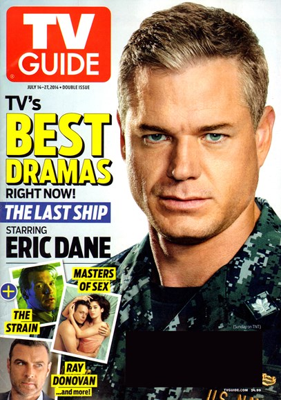 TV Guide Cover - 7/14/2014