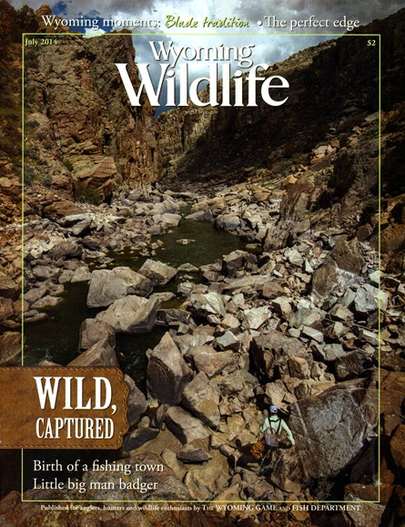Wyoming Wildlife Cover - 7/1/2014