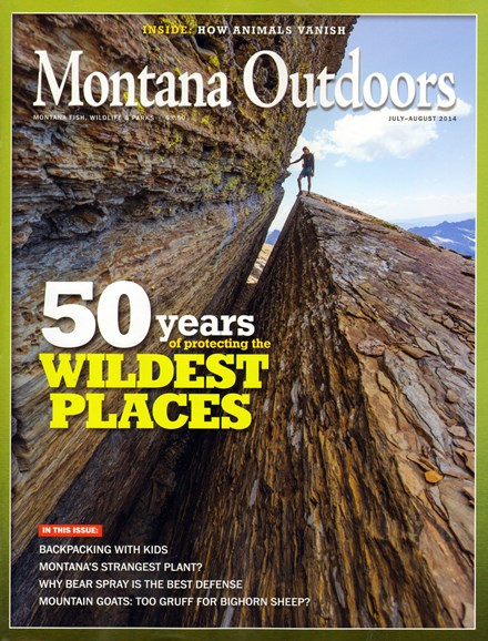 Montana Outdoors Cover - 7/1/2014