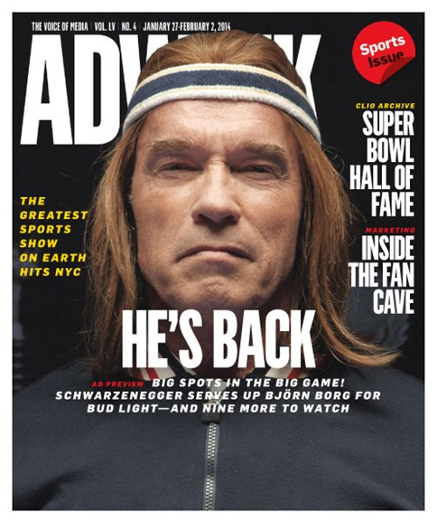 Adweek Cover - 1/27/2014