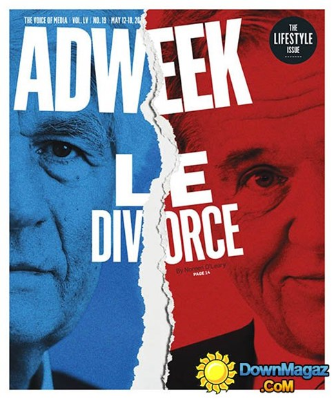 Adweek Cover - 5/12/2014