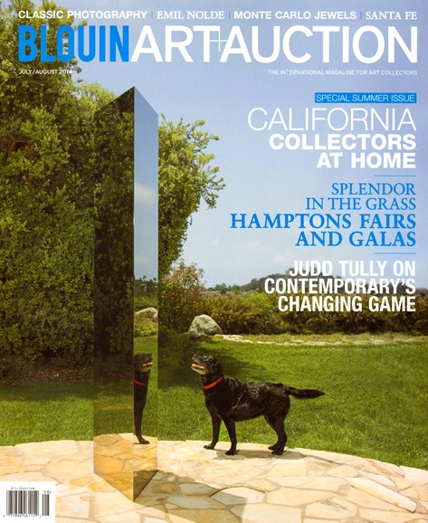 Blouin Art & Auction Cover - 7/1/2014