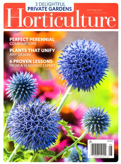Horticulture Cover - 7/1/2014