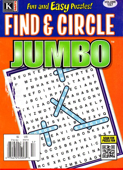 Find & Circle Jumbo Cover - 7/1/2014